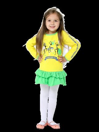 Платье Radiance RT1603/желтый 98