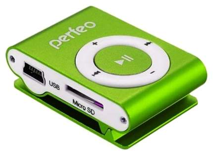 МР3-плеер с клипсой Perfeo Music Clip Titanium VI-M001 Зеленый
