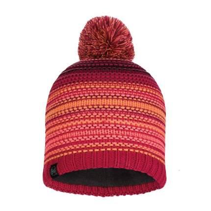 Шапка Buff Knitted & Polar Hat Neper красная ONESIZE