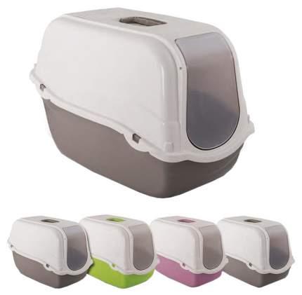 Биотуалет для кошек MP-Bergamo ROMEO закрытый с угольным фильтром 57х39х41см