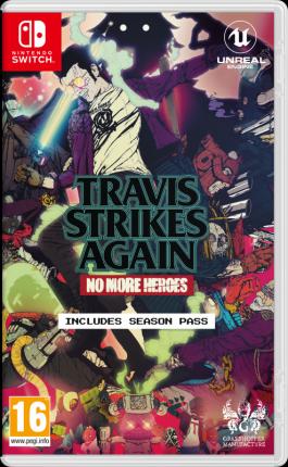 Игра для Nintendo Switch Travis Strikes Again: No More Heroes английская версия