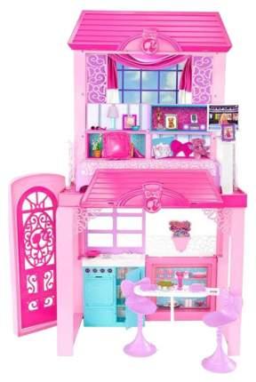 Дом кукольный Barbie розовый