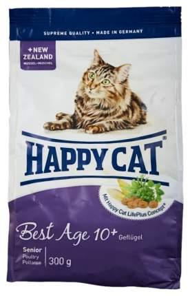 Сухой корм для кошек Happy Cat Fit & Well Best Age 10+ Senior, ягненок,курица,лосось,0,3кг