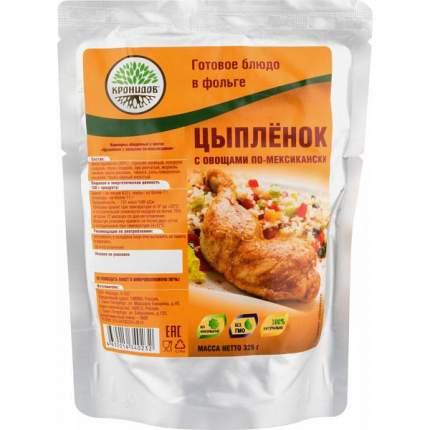 Готовое блюдо Крнидов цыпленок с овощами по-мексикански 250 г