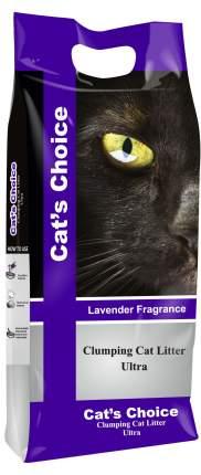 Комкующийся наполнитель для кошек Indian Cat Litter бентонитовый, лаванда, 5 кг