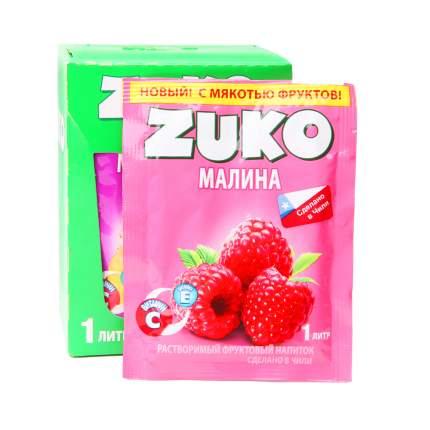 Напиток растворимый Zuko малина 12 штук