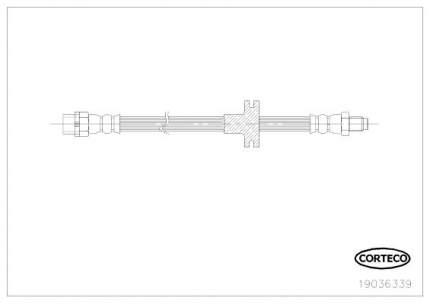 Шланг тормозной системы CORTECO 19036339