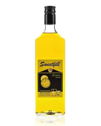 Сироп Sweetfill лимон стекло 500 мл