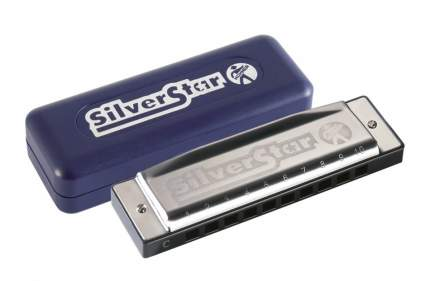 Губная гармоника диатоническая HOHNER Silver Star 504/20 Small box C