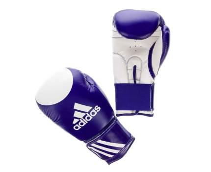 Перчатки для кикбоксинга Adidas Ultima Target WAKO синие 12 унций
