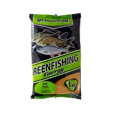 Прикормка летняя Green Fishing Energy Big Fish 1 кг