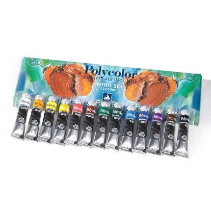 Акриловые краски Maimeri Polycolor 13 цветов