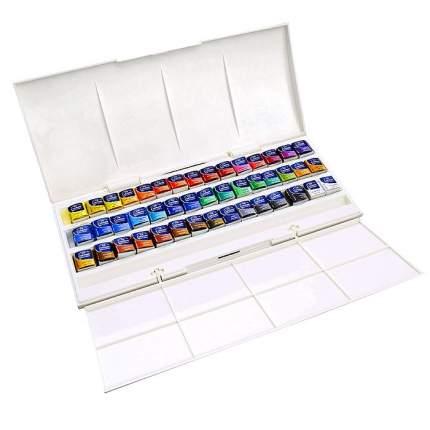 Акварель Winsor&Newton Cotman Half Pan Studio Set 45 цветов