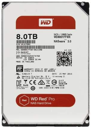 Внутренний жесткий диск Western Digital 8TB (WD8001FFWX)