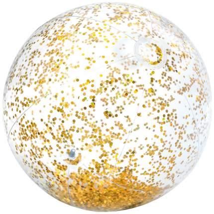 Мячик надувной Intex Прозрачный блеск 58070