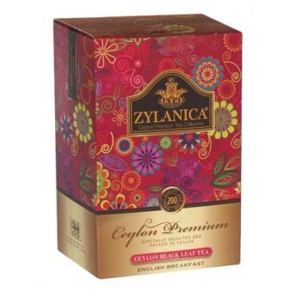 Чай черный листовой Zylanica ceylon premium collection английский завтрак FBOP 200 г