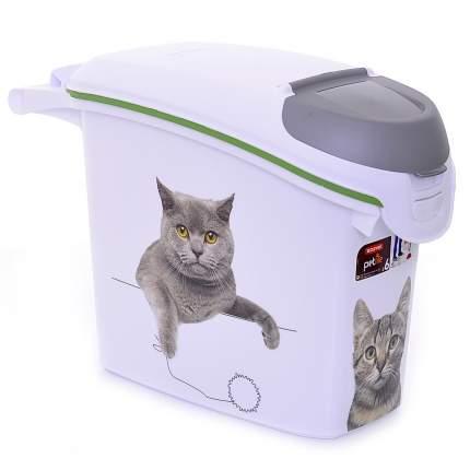 Контейнер для корма Curver Сладкие Котята, размер 23х50х36см,