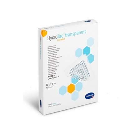 Повязка ГидроТак транспарент комфорт гидрогелевая самоклеящаяся 10х20 см 10 шт.