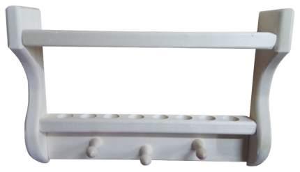 Полка для бани Лесодар С подставкой для масел на 8 пузырьков