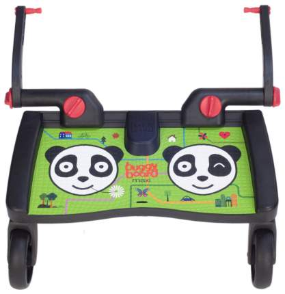 Подножка Lascal BuggyBoard Maxi к коляске Panda City Зеленая