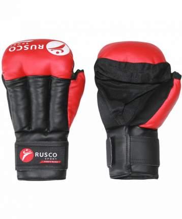 Перчатки для рукопашного боя Rusco Sport, к/з, красные (8)