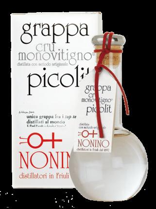 Граппа Cru Monovitigno Picolit Nonino
