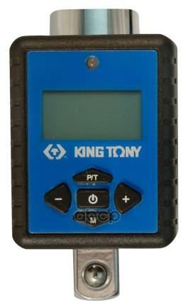 """KING TONY Электронный динамометрический адаптер 3/8"""", 27-135 Нм, кейс 34307-1A"""