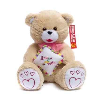 Мягкая игрушка Медведь с подушкой малый 45 см Нижегородская игрушка См-324-в-п-5