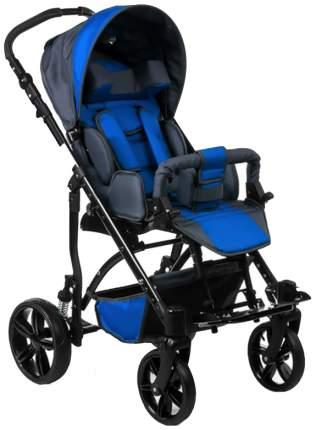 Кресло-коляска Meyra Junior для детей ДЦП синий-серый пневматические