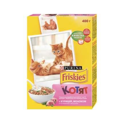 Сухой корм для котят Friskies, курица, 0,4кг
