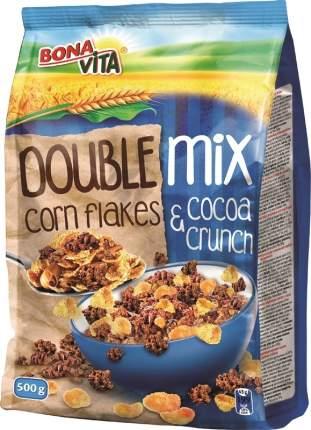 Мюсли Bona Vita двойной микс с какао и кукурузными хлопьями