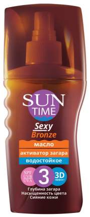 Масло для загара Эколла Sun Time Sexy Bronze SPF3 150 мл