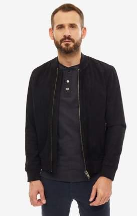 Куртка кожаная мужская Selected 16065843 black черная L