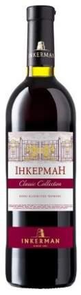 Вино Инкерман Красное Полусухое