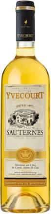 Вино Yvon Mau  Yvecourt Sauternes AOC