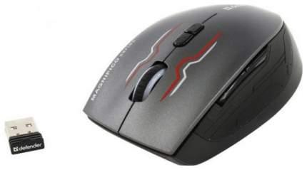 Беспроводная мышка Defender Magnifico MM-555 Nano Grey/Black (52555)