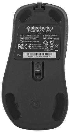 Игровая мышь SteelSeries Rival 300 Silver Grey (62350)