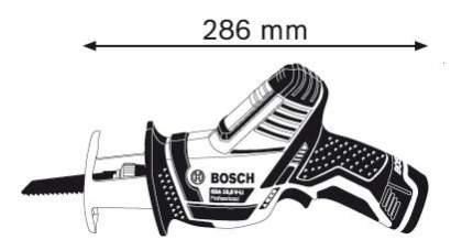 Аккумуляторная сабельная пила Bosch GSA 10,8V-LI 060164L902 БЕЗ АККУМУЛЯТОРА И З/У
