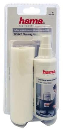 Чистящий набор Hama R1084199 салфетки + спрей
