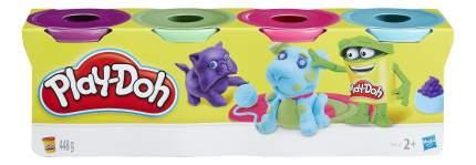 Play-doh набор из 4 баночек b5517 b6510