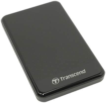 Внешний диск HDD Transcend StoreJet 2TB Black (TS2TSJ25A3K)