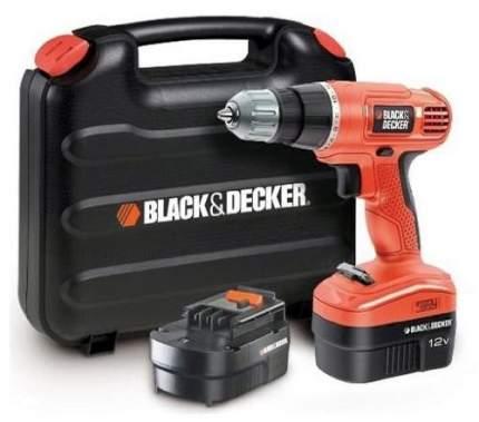 Аккумуляторная дрель-шуруповерт Black+Decker EPC12CABK