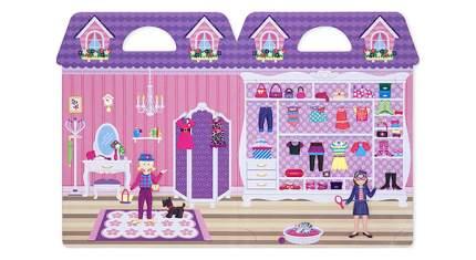 Набор для творчества Melissa & Doug Со Стикерами и Фоном Магазин Одежды