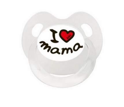 Пустышка BIBI Dental силикон 6-16 мес., Basic Care Mama/Papa, в ассортименте