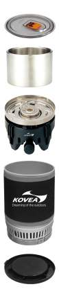 Туристическая горелка газовая Kovea Alpine Pot Wide KB-0703W