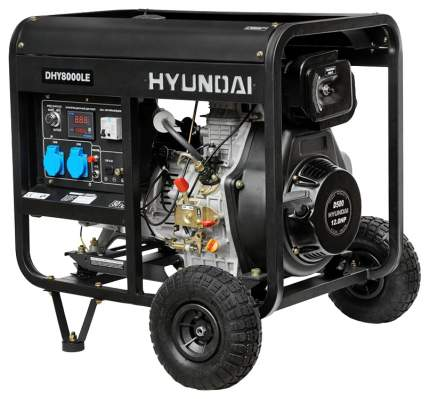 Генератор дизельный Hyundai DHY 8000LE