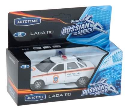 Коллекционная модель Lada 110 служба спасения Autotime 7865 1:36