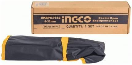 Набор ключей рожковых INGCO HKSPA2142