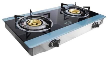 Настольная газовая плитка RICCI RGH-604B Blue/Black