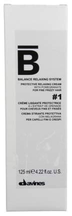 Крем для волос Davines Balance Protective Relaxing Cream № 1 для тонких волос 125 мл